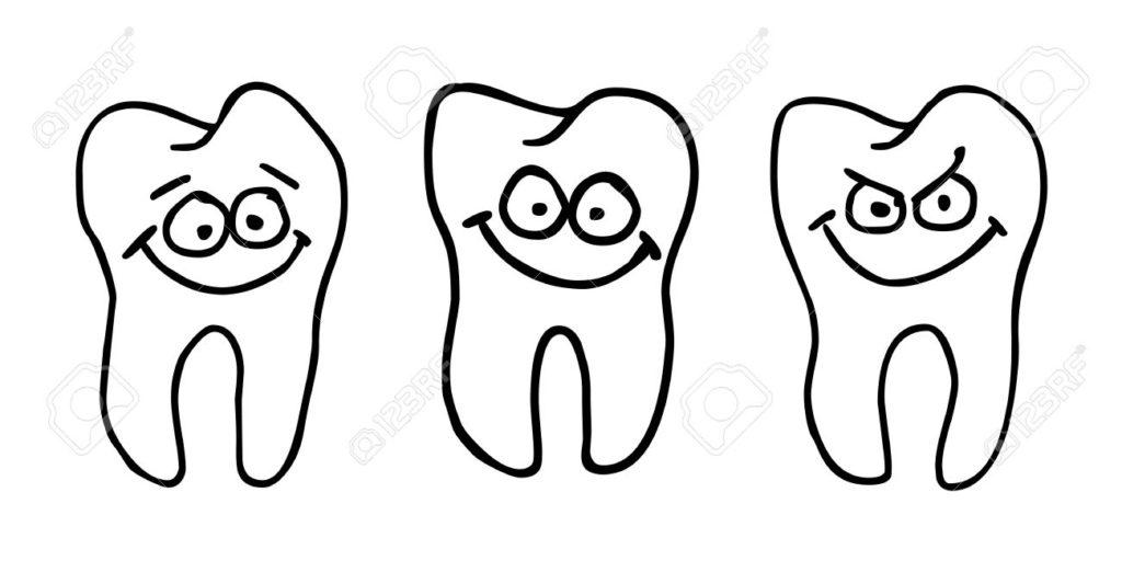 funny-Zahncomic-Gesicht-